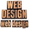 web design in letterpress type