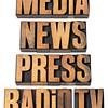 media, news, press, radio and tv
