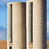 twin farm silos