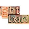 fight back - motivation concept