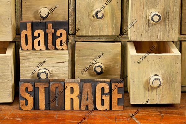 data storage concept