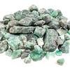 raw emerald gemstones