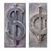 dollar and cent symbols
