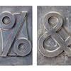 percent and ampersand symbols