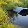 irrigation ditch with culvert