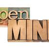 open mind in wood type