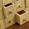 vintage apothecary drawer cabintet