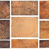 grunge wooden block