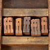 ligature letterpress printing blocks