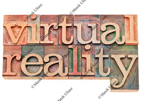 virtual reality in letterpress wood type
