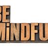 Be mindful in letterpress wood type