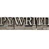 copywriting in metal type