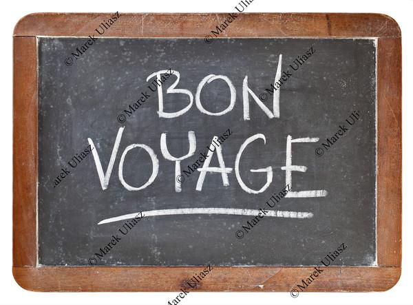 bon voyage on blackboard