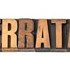 errata word in wood type