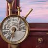 engine controls on ship brisge