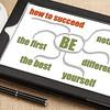 success tips on digital tablet