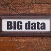 big data  tag - file cabinet label