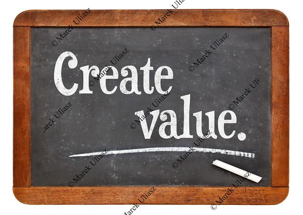 create value on blackboard