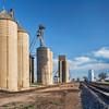 grain elevators in rural Colorado