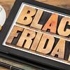 Black Friday shopping concept