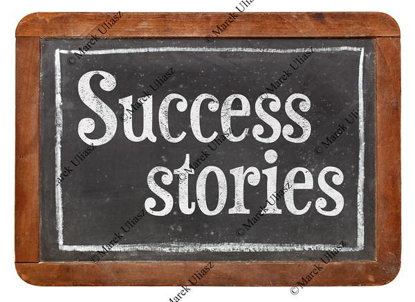 success stories on blackboard