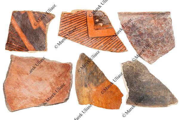Anasazi Indian pottery artifacts
