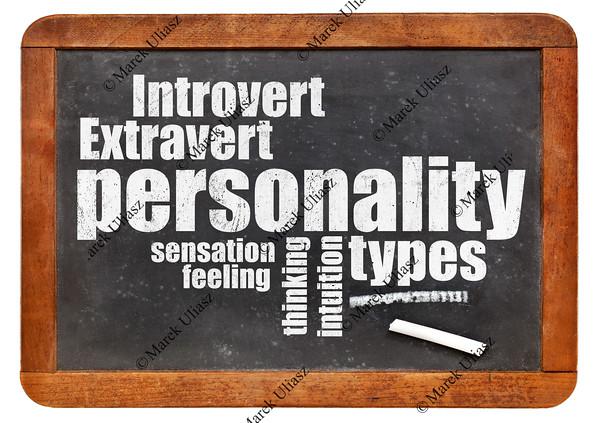 personality types on blackboard
