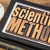 scientific method on digital tablet