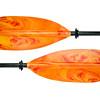colorful kayak paddle