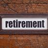 retirement label