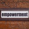 empowerment - file cabinet label