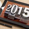 year 2015 in vintage metal type