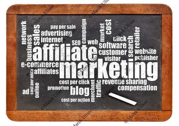 affilliate marketing word cloud