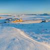 Colorado prairie in winter