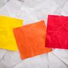 blank colorful sticky notes