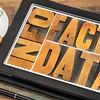 information, data, facts om tablet