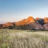 Eaglr Nest Rock at sunset