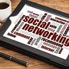 social networking word cloud