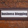 business blogging label