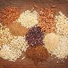 gluten free grains abstract