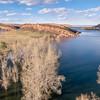 lake aerial landscape