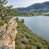 Horsetooth Reservoir at springtime