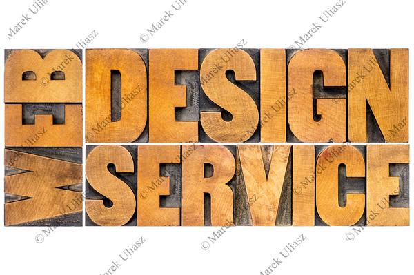 web design service typography