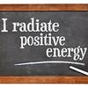 I radiate positive energy affirmation
