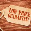 low price guarantee on paper tag