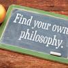 Find your own philosophy on blackboard