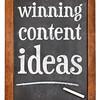 winning content ideas
