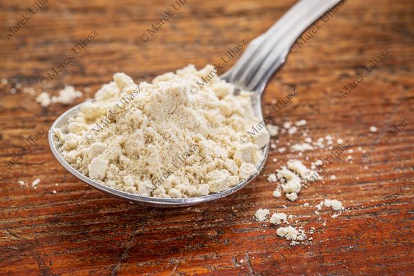 tablespoon of quinoa flour