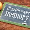 Cherish every memory on blackboard