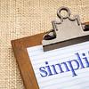 simplify word on a clipboard